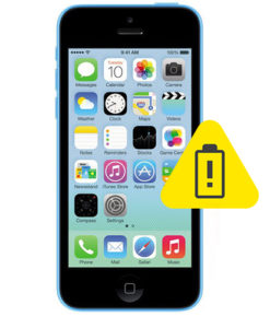 iPhone 5C batteri skifte