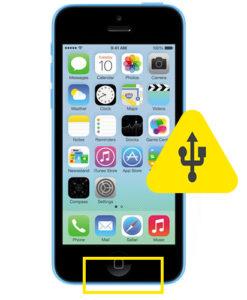 iPhone 5C usb ladeport reparasjon