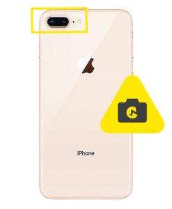 iPhone 8 Plus kameraglass reparasjon
