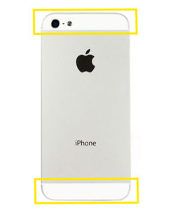 iPhone 5S bakglass reparasjon