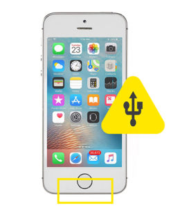 iPhone 5S usb ladeport reparasjon