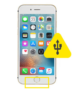 iPhone 6s plus usb ladeport reparasjon