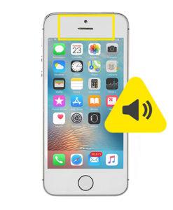 iPhone SE øre høyttaler reparasjon