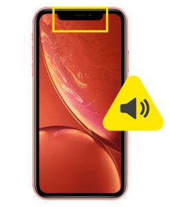 iPhone XR øre høyttaler reparasjon