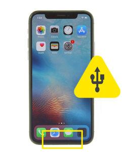 iPhone XS usb ladeport reparasjon