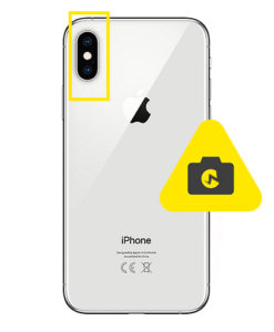 iPhone Xs max kameraglass reparasjon