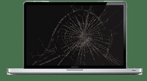 bytte skjerm macbook